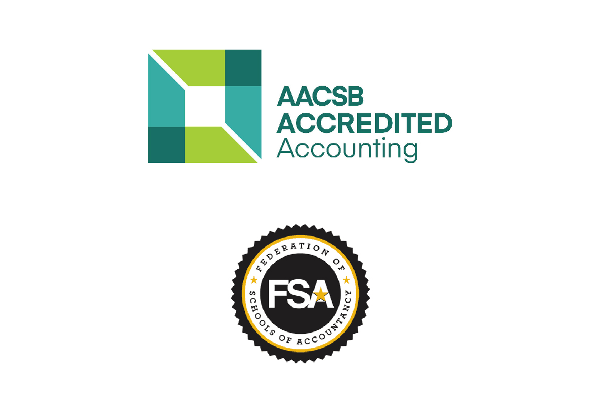 AACSB Logo and Federation of School of Accountancy